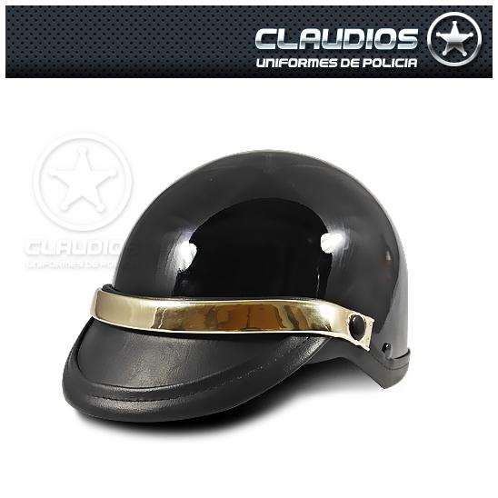 Casco para motociclista policía