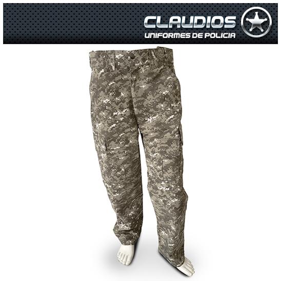 Pantalón de Comando Pixelado Verde