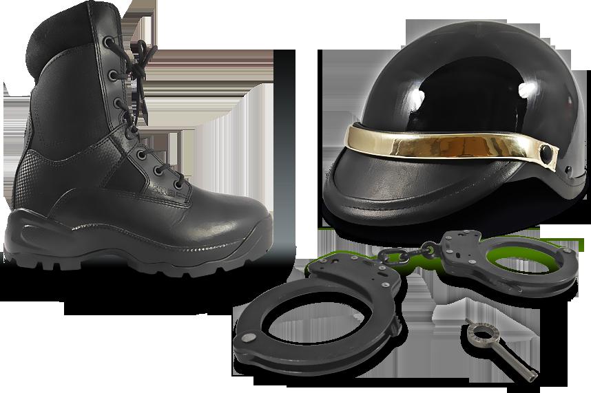 Uniformes para policía